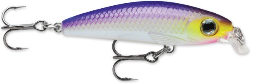 Rapala Ultra Light Minnow 04 Fishing lure, 1.5-Inch, Purpledescent