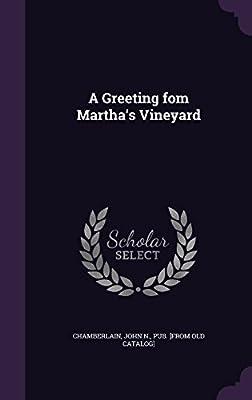 A Greeting Fom Martha's Vineyard