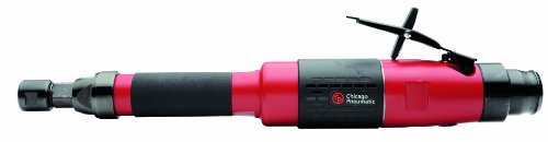 Chicago Pneumatic CP3451-18SEC Heavy Duty Industrial Extended Straight Grinder with 1/4-Inch Collet by Chicago Pneumatic