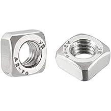 5//8-11 Heavy Square Nuts//Steel//Plain Quantity: 200 pcs