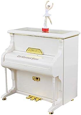 Hong Yi Fei-Shop-Cajas Musicales Caja de música de Piano Vintage ...