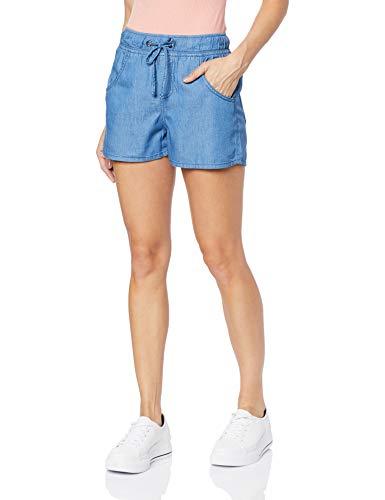 Shorts Jeans Sport Denim Z, Denúncia, Feminino, Azul, 36