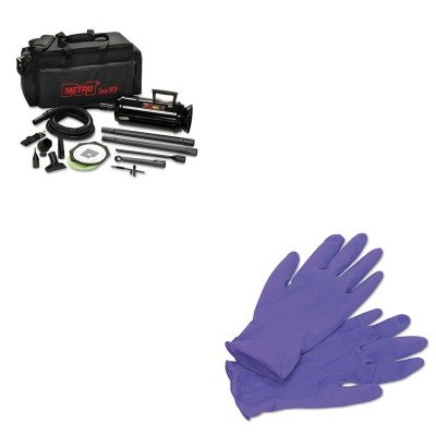 KITKIM55082MEVMDV3TCA - Value Kit - Datavac Pro 3 Professional Cleaning System (MEVMDV3TCA) and KIMBERLY CLARK PURPLE NITRILE Exam Gloves (KIM55082) - Data Vac Pro Cleaning Kit