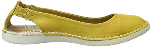 Softinos Tor384SOF, Bailarinas Para Mujer Amarillo (Yellow)