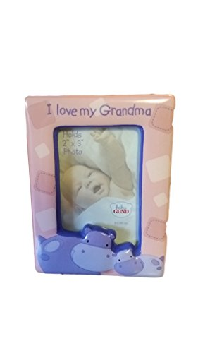 Gund Hugs and Kisses I Love Grandma Photo Frame