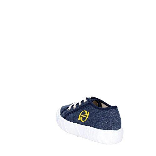 byblos SHB249 Niedrige Sneakers Boy Blau