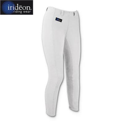 (Irideon Kids Cadence Full Seat Riding Breeches - Color:White Size:XLarge)