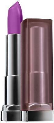 Maybelline New York Color Sensational Creamy Matte Lip Color, Vibrant Violet 0.15 oz (Pack of 2)