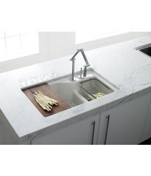 Kohler k 6411 1 0 indio undercounter double offset basin kitchen kohler k 6411 1 0 indio undercounter double offset basin kitchen sink with workwithnaturefo