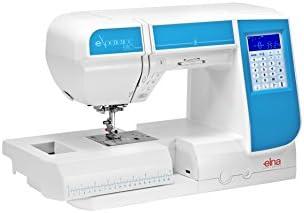 Máquina de coser Elna Experience 580 con 21 cm pulsera rendimiento ...