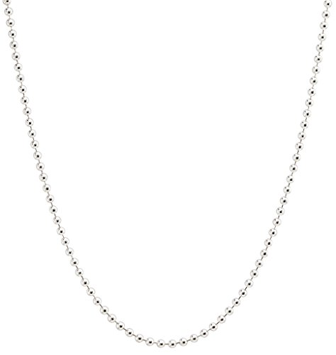 (Helen Ficalora Ball Chain Sterling Silver 16 in)