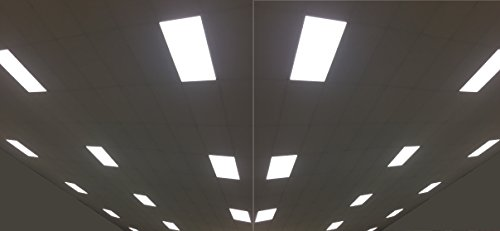 2Pack UL DLC4.2 100lm/W 50W LED Recessed Ceiling 2x4'' Dimmable Comercial LED Panel Light (4000K) by WennoW (Image #5)