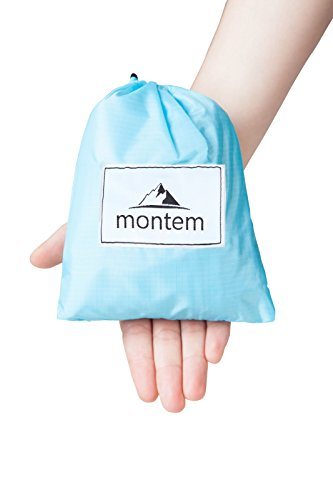 Montem Premium Pocket Blanket Compact Picnic  Beach  Outdoor  Camping Blanket Made From Premium Soft And Lightweight Water Resistant Material Ideal For Camping Traveling Hiking