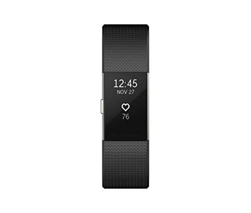 Fitbit Charge 2 Heart Rate + Fitness Wristband, Black, Large (International Version) - http://coolthings.us
