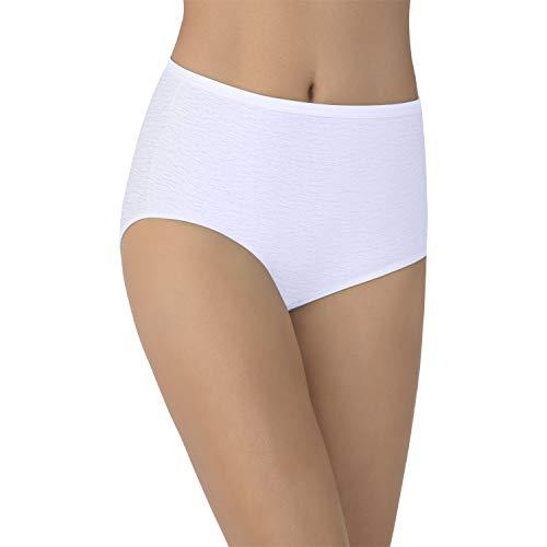 Vanity Fair Women's My Favorite Pants Illumination Brief #13109, Star White, Size 7 -