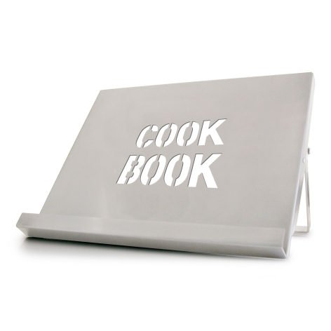 Cks Cookbook Stand Stainless Steel