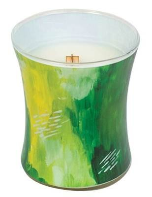 LIME BERGAMOT - ARTISAN Collection Hourglass WoodWick Scented Jar Candle