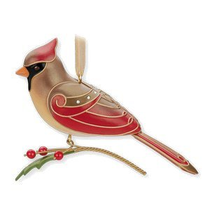 lady cardinal limited edition 2010 hallmark ornament
