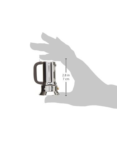 Miniature Espresso Coffee Maker in Mirror Polished by Richard Sapper