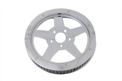- V-Twin 20-0352 - Rear Drive Pulley 70 Tooth Chrome
