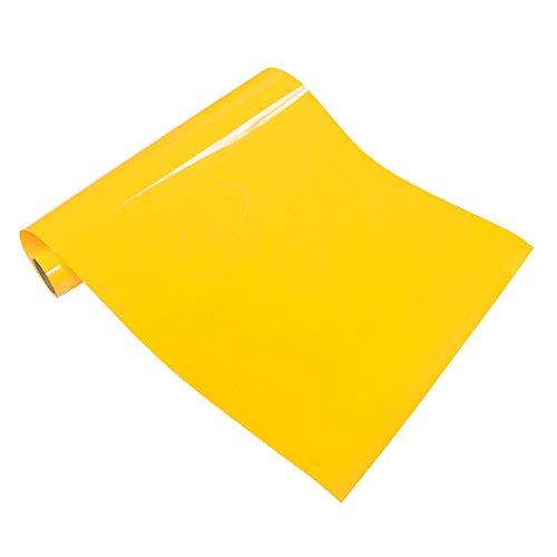 VINYL FROG Lemon Yellow Heat Transfer Vinyl 10