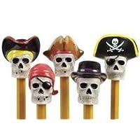 1 X adornos de lápiz pirata