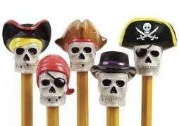 1 X Pirate Pencil Toppers