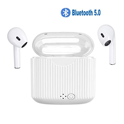 ENYOUW Bluetooth Earbuds Headphones Bluetooth5.0 Stereo Sports Headphons Earbuds Noise Cancelling and Waterproof Headsets for Gym Running Workout