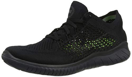 Laufschuh Running da Anthracite Black Nike Flyknit Nero 001 Scarpe Run 2018 Uomo Free fdx0qR1