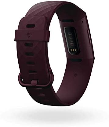 Fitbit Charge 4 Fitness Tracker Rosewood NFC (Renewed)