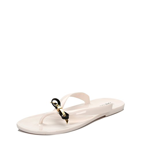 0d4b4ebd0 Ted Baker Womens Cream   Black Heebei Flip Flops-UK 8 - Buy Online in UAE.