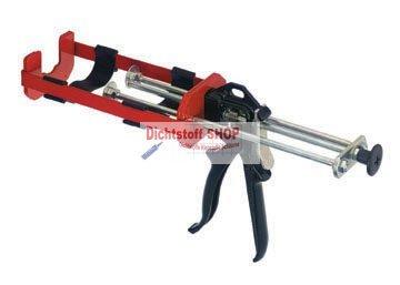 PC Cox 2K Dosierpistole VBM 200 400ml 1:1 MixPac Doppelkartuschen PC Cox Limited
