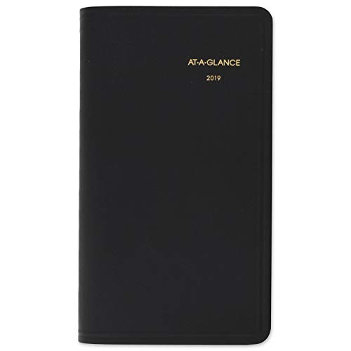 - AT-A-GLANCE 2019 Monthly Planner, 3-1/2