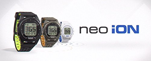 Bushnell Neo Ion (White) Golf GPS Watch GIFT BOX Bundle | Includes PlayBetter USB Wall/Car Adapters, GPS Carry Case, Cleaning Brush | Black Gift Box with Red Bow by PlayBetter (Image #2)