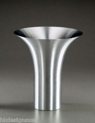 Amazon Russel Wright Flare Vase Spun Aluminum Plant Vases