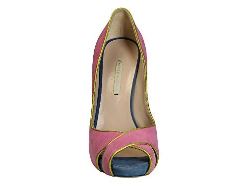 Suède KIRKWOOD NICHOLAS Multicolore Femme 12S0683B Escarpins 1nq4w