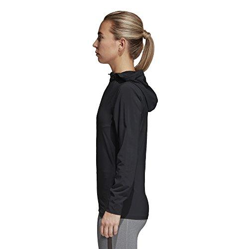 Adidas Free Lift Woven Vestes-ANORAKS Femme–Noir