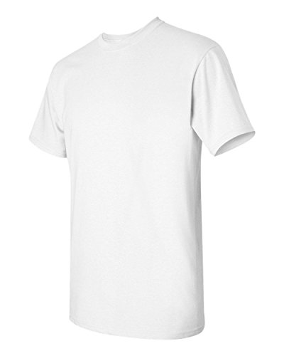 Gildan 5.3 oz. Heavy Cotton T-Shirt, Small, White
