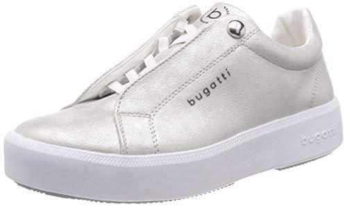 1300 431407675900 Donna Sneaker silver Bugatti Infilare Argento 0xzq0AY
