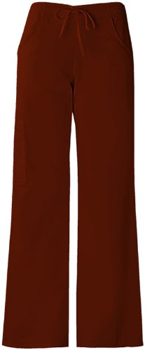 Baby Phat 26034 Women's The Pant Scrub Pant Brown X-Small