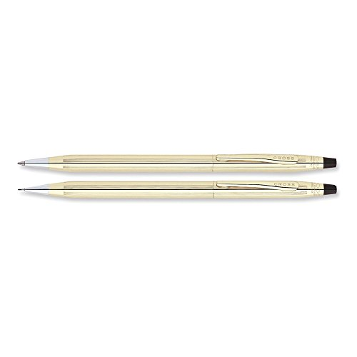 Classic Century 10k Gold-filled Ball-Point Pen & 0.7mm Pencil Set
