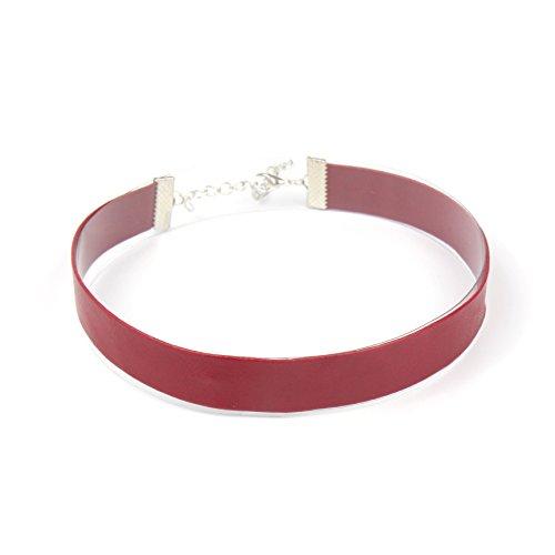 CHOKER LAND |Simple Soft Leather Choker - Leather Designer Necklace