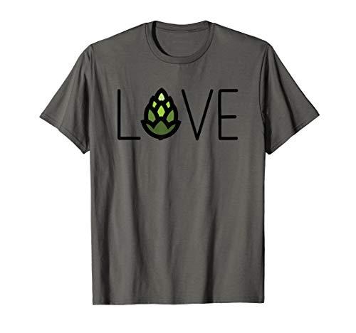 Love Craft Beer T-Shirt - Hem Double