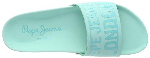 Royal light Green L Jeans Verde Donna Bio Pepe Ciabatte Block Water OgTE6q