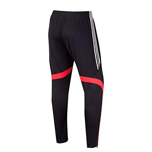 spyman Men Skinny Sweat Long Pants Male Cotton Sportswear Slim Fit Casual Trousers Plus Size Sweatpants,6018 red,L