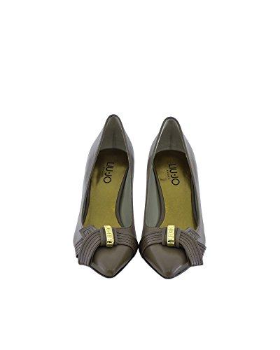 liu jo - Zapatos de vestir de piel sintética para mujer Verde Verde/Beige