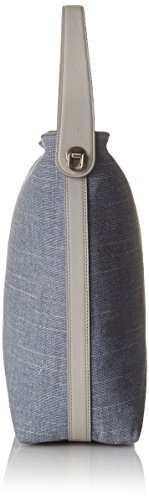 Femme Maya X Sacs 10 Portés Fossil T chambray Cm Bleu Damentasche Small 16x30 nbsp; 48 Épaule H Hobo 48x30 b qxPXETw8P