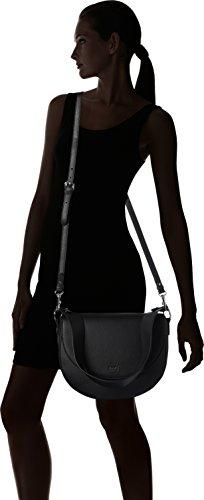 JOOP Nature Grain Rhea Shoulderbag Lhf - Bolso de hombro Mujer Schwarz (Black)
