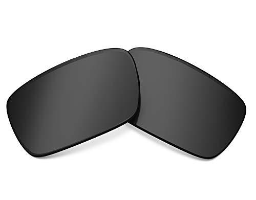 (Replacement Lenses Compatible with OAKLEY Crankshaft Polarized Black Iridium)