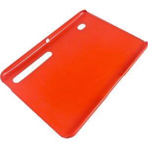 Red Rubberized Back Cover for Motorola XOOM (Motorola MZ600)